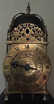 1640s Lantern Clock