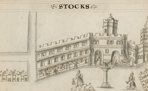 Where to Shop in Tudor London