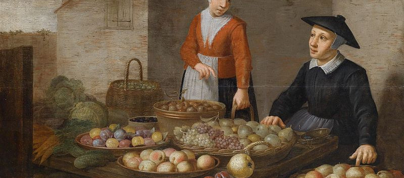 800px-Market_scene_with_two_fruit_seller