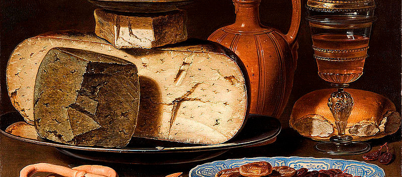 Clara_Peeters_-_Still_Life_with_Cheeses,