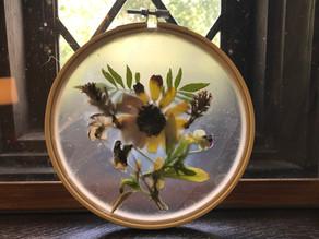Activity #5: Pressed Flower Sun Catcher