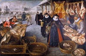 Mistress Dauntesey Finishes Her Shopping