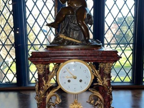 Agecroft's Tiffany Clock
