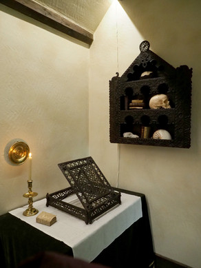 Gentleman's Study—Curiosity Cabinets