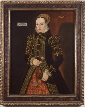 Portrait of Elizabeth Fitzgerald