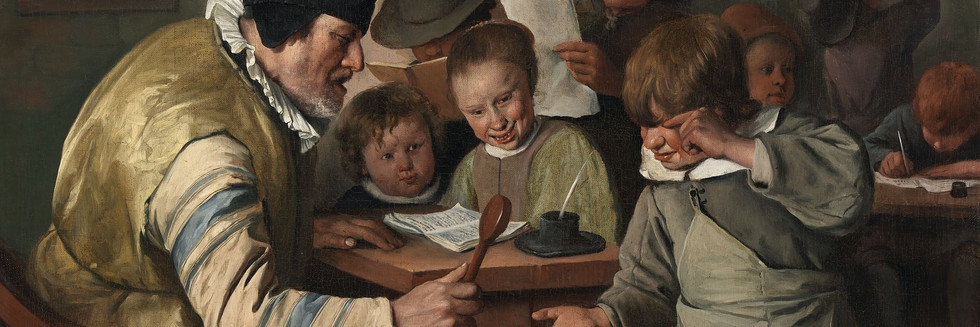 Jan_Steen_-_The_Village_School_(National