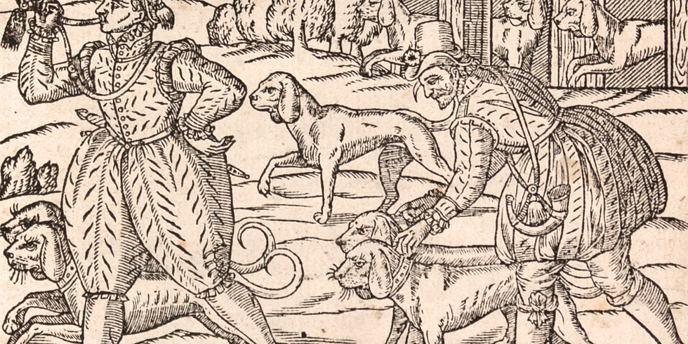 """Special Focus Tour: """"With Horn and Hound"""": Hunting in Tudor and Stuart England"""