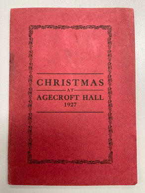 A Christmas Masque at Agecroft Hall, 1927