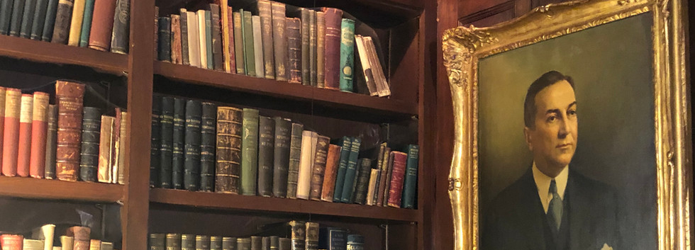 Library and Portrait of T. C. Williams Jr.