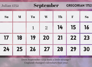 Changing Times and English Calendars
