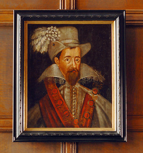 Portrait of James VI and I, King of Scotland and England