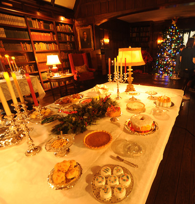 Agecroft Library 1940s Christmas