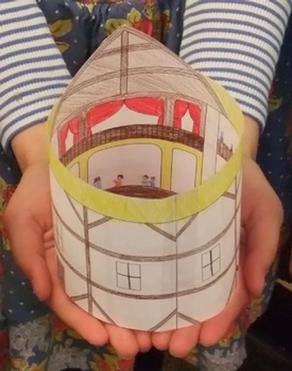 Make a Model of Shakespeare's Globe Theatre!