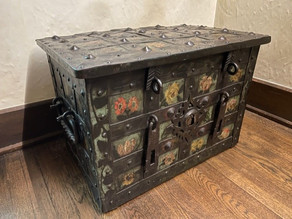 Strongboxes in the Agecroft Collection