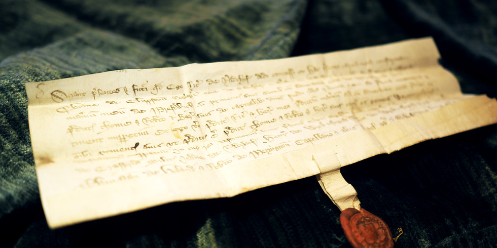 Special Focus Presentation: Letters of the Law in Lancashire