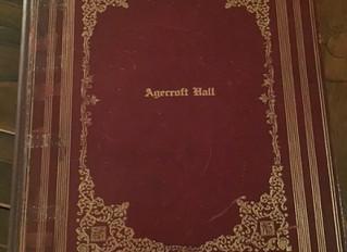 Agecroft Hall Guest Book