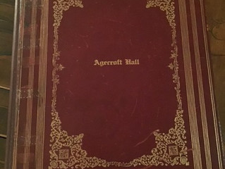 Agecroft Hall Guest Book