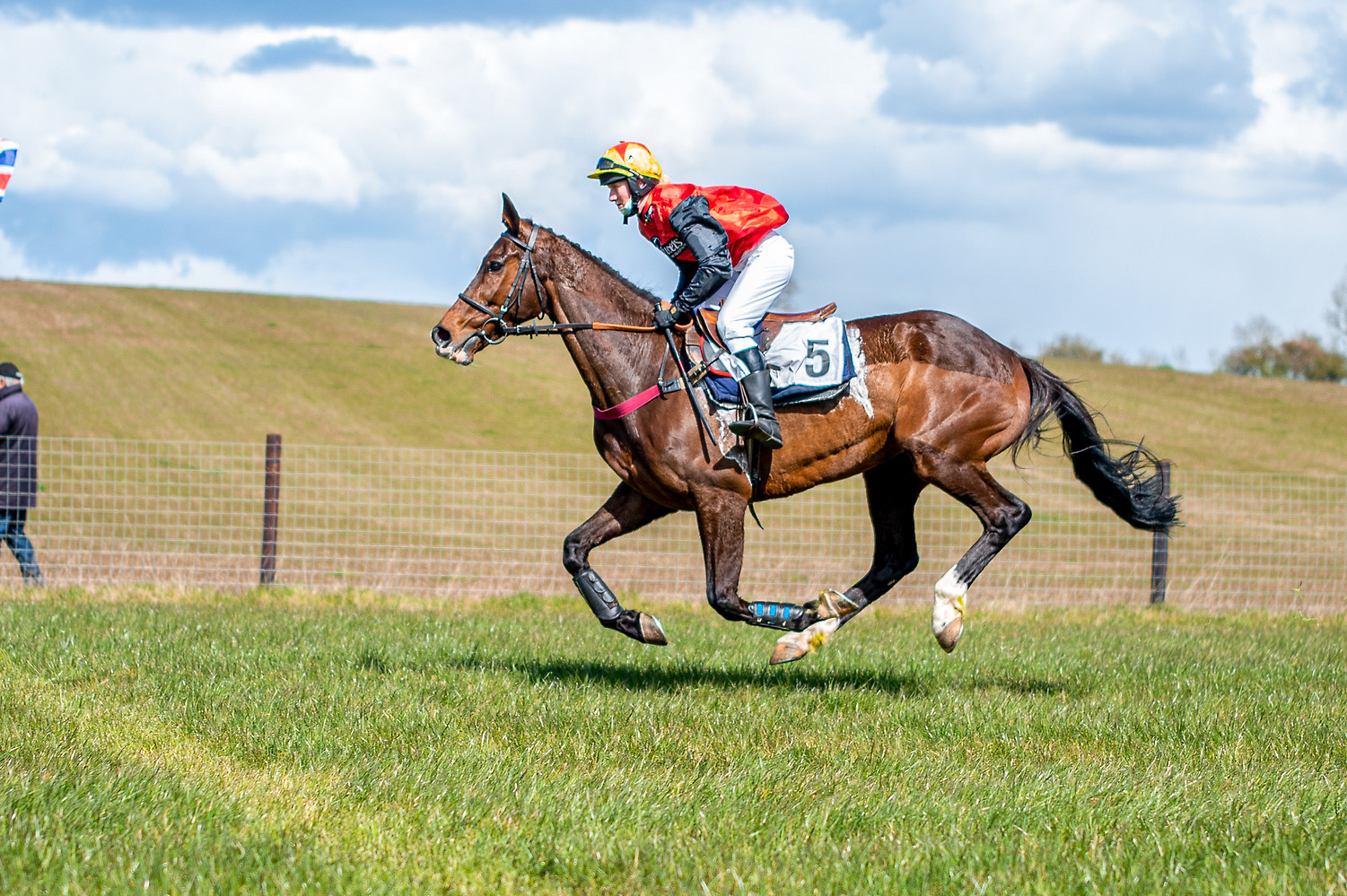Our Sponsored Jockey, Flora Guy and Nesterenko making their Pointing debut at Shelfield Park Races