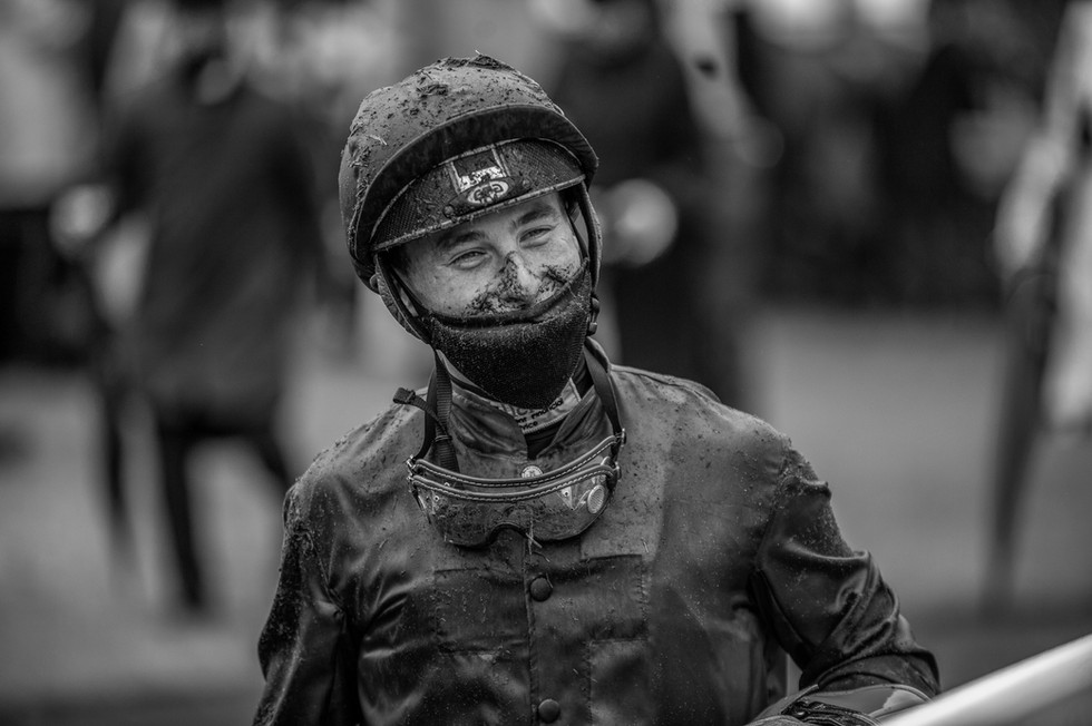 Rowan Scott post riding in the Albany Stakes at Royal Ascot 2021