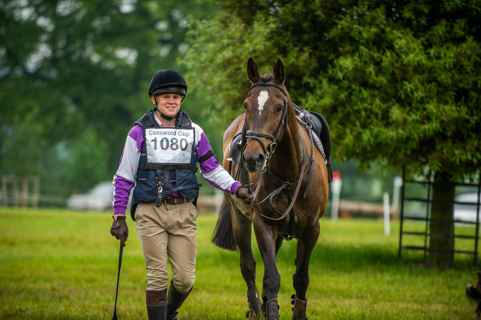 Bobby Howard Jones and Stanley at the Cotswold Cup