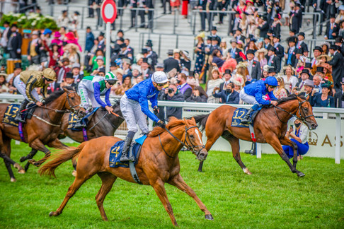 James Doyle and Creative Force win the Jersey Stakes at Royal Ascot 2021