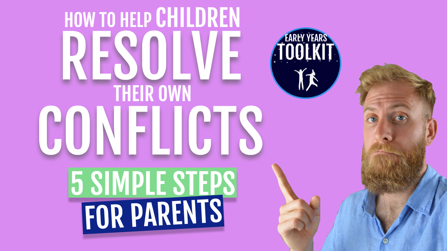 WATCH - How to help children resolve their own conflicts: 5 Simple Steps For Parents