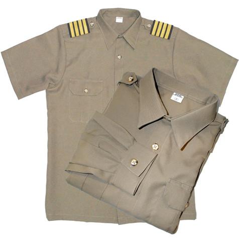 Officer's Polo Khaki