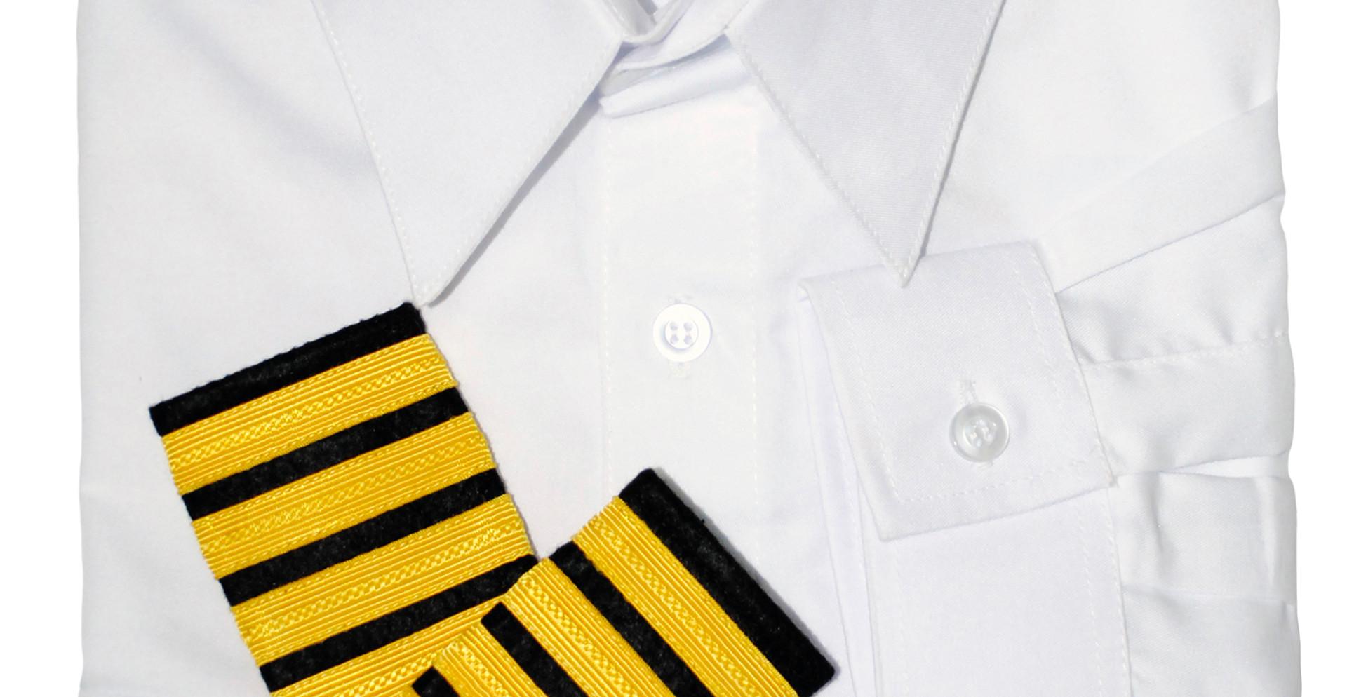 Officer's Polo White