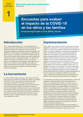 Practitioner guidance paper_EPIC_Espanol