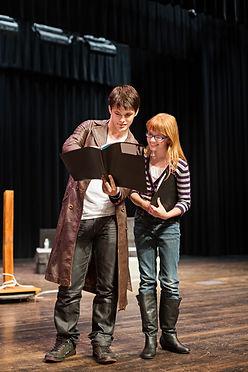 Aktorzy Czytanie Script
