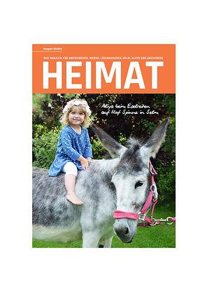 Bambinofoto auf dem Titel des Heimatmagazins