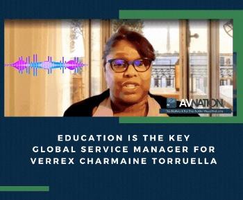 Global Service Manager for Verrex Charmaine Torruella