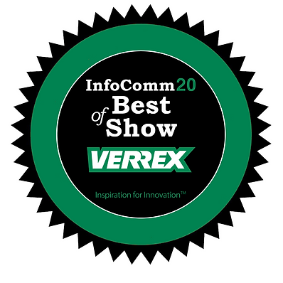 InfoComm20 Best of Show