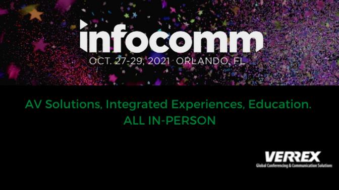 InfoComm 2021: Conference