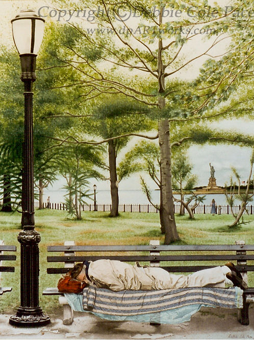 Fine Art Watercolor Archival Giclee Print