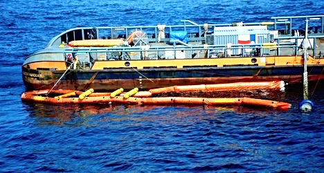 Oil Spill Response Vessel Management