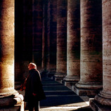 Old Man in St. Peter's Square