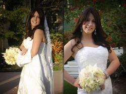 Jen, the happy bride