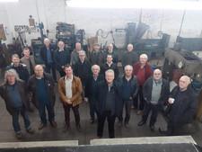 Club members meeting at Agra Engineering