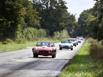 E-type Round Britain Coastal Drive - Stages 1 - 6