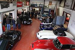 CBR Classic Restorations workshop