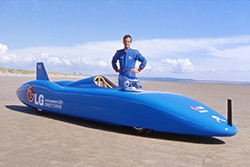 Don Wales is confirmed to flag away participants of the Round Britain Coastal Drive