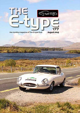 E-type Club sample magazine