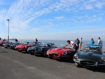 E-type Round Britain Coastal Drive 2016 - Stages 7 - 14