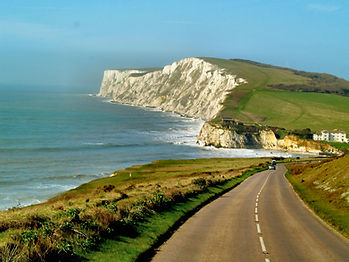isle of Wight coast road