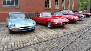 Crich Tramway Museum and Classic Car Show