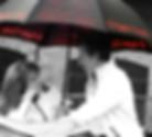 Jaguar design umbrella