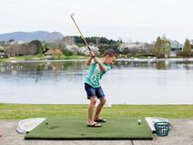 Get Swinging at Aqua Golf & Putt Putt