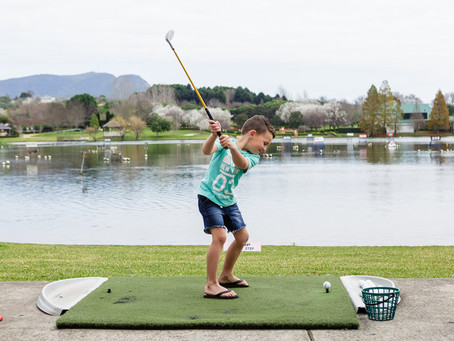 Get Swinging at Aqua Golf & Putt Putt