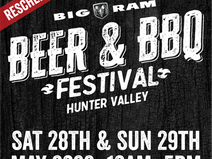 Big RAM Beer & BBQ Festival Hunter Valley Rescheduled